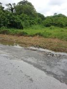 Main Road Frontage Land for Rent