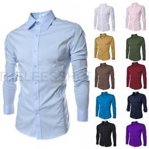 [02] Plain Formal 20 Colors Long Sleeved Shirt