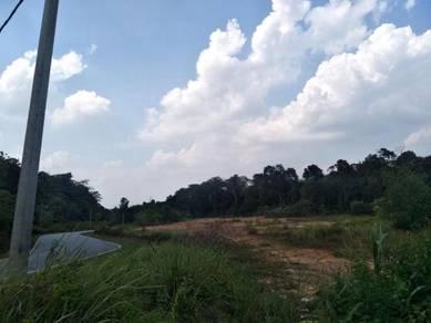 Road Side Land Sale at Kundang