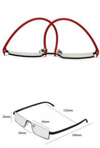 Flexible Eyewear Glasses Spectacle Square Frame