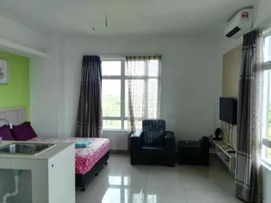 Unit Studio Viana Court berhampiran Pusat Beli Belah Wakaf Che Yeh K.B