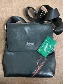 Jeep Genuine Leather Sling Bag