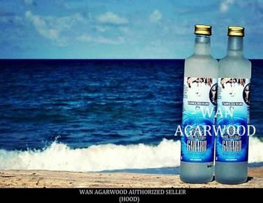 Air minuman gaharu tulen (pure agarwood drinks)