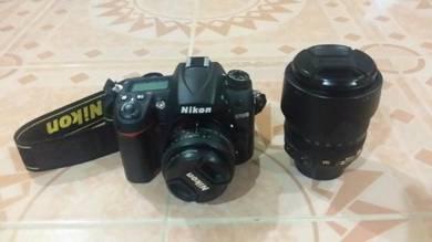 Nikon D7000 Full Set + 50mm Lens