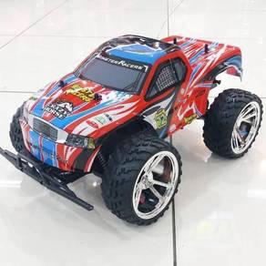 Rc Power Rc Truck Big Wheel 1/10 Battery Powered