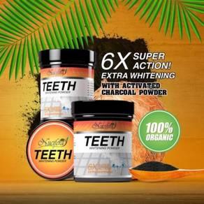 Nucifera teeth whitening powder