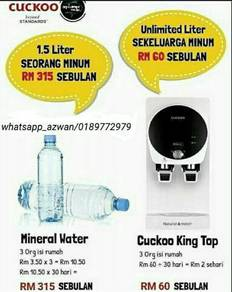 KING TOP Cuckoo Water Purifier X8.61