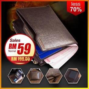 Premium Golden Men's Wallet