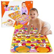 Learning English Musical Play Mat Baby Toy