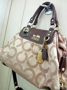 Authentic coach Sabrina 2ways satchel
