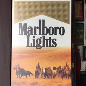 Poster marlborro light