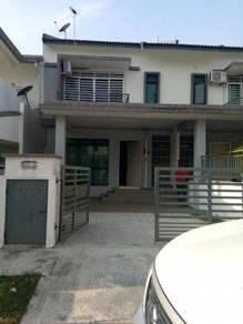Double storey fully furnished hot area below value muzaffar melaka