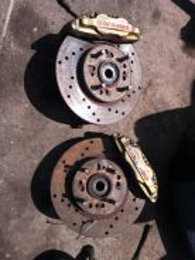 Disc depan wira 4 port aristo pnp wira satria