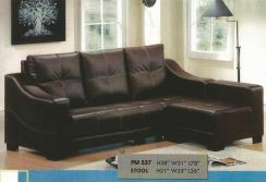 Dimension l-shape sofa-8537