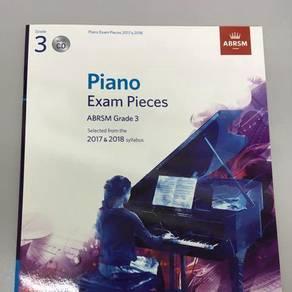 ABRSM Piano exam pieces Grade 3