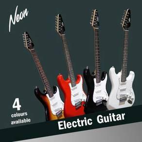 Taloha Neon Electric Guitar Full Set + 10W Amp NEW