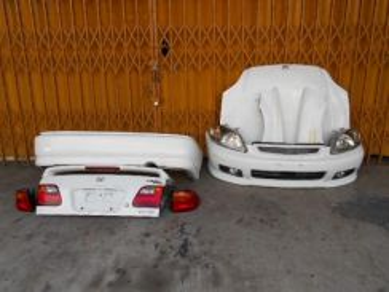 Honda ek ek3 ek99 virs ek4 so4 bodypart foglamp RX