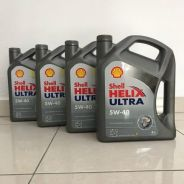 Shell Helix 5W-40 fully synthetic engine oil