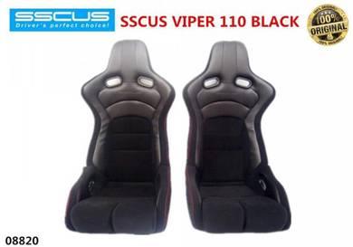 WIRA WAJA SSCUS Viper 110 SPORT RACING Seat Black