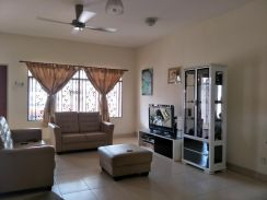 NEW PAINTED KITCHEN CABINET House at Parkland, Jalan Delima