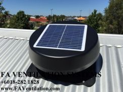 25JHND Solar Attic Ventilator Fan (Germany)