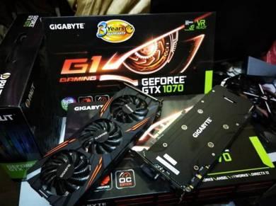 Gigabyte Gaming G1 GTX1070 GDDR5