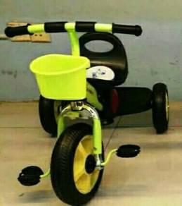 Kids music trycycle yellow