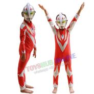 Ultraman Red Tiga Children Kids Costume