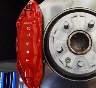 Brembo f50 tesla brake kit set ap racing