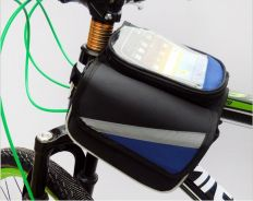 Bicycle frame bag touch screen 5.5inch beg basikal