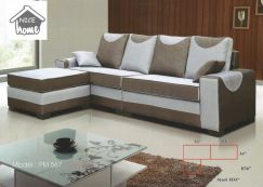 Dimension l-shape sofa-8567
