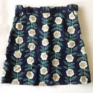 Elena Sea Flower Short Skirt