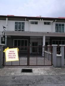 Double Storey Terrace Seksyen 12, Bandar Puncak Alam Selangor