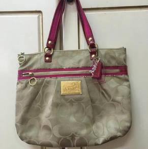 Preloved Coach Tote Handbag