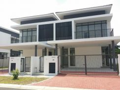 [New Environment] freehold 0%D/P 22x85 2storey teres house Bangi