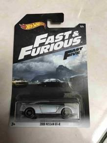 Hot wheels Hotwheels Fast & furious 2009 nissan GT