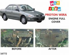 Proton wira satria putra engine lower full cover