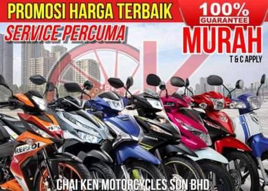 Honda rs150 !! promosi low dp low monthly