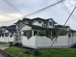Fully Furnished Semi D Stampin Timur for Rent