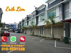 Double Storey Shop Lot Near Mydin Taman Batik For Sale