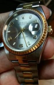 Rolex 18k 15223.