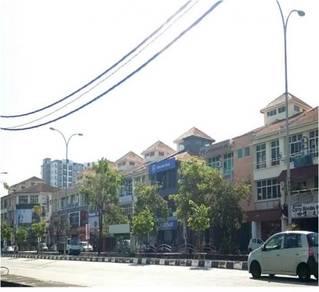 Woolley Development Shop Office at Jalan Raja Uda