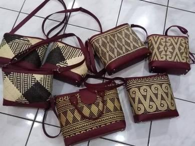Rotan Handmade beg Kraftangan