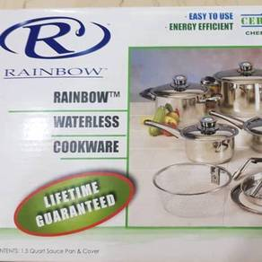 Rainbow Stainless Steel 1pc Pan & Cover