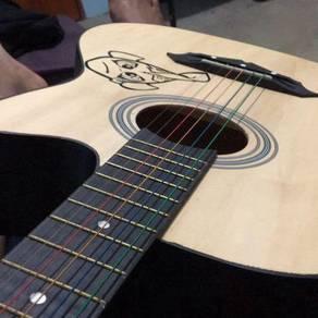 GITAR rm135 dpt beg gitar,dpt cappor