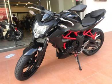 Kawasaki Z250SL Buy1 Free1 Kedai Loan