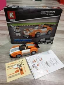 Racing car brick set