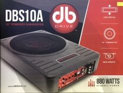 DB Drive 10' Active Subwoofer Underseat 800watts