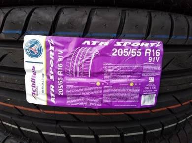 205/55/16 Achilles ATR Sport 2 Tyre Tayar