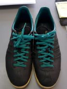 Adidas gazelle limited edition black tiffany blue
